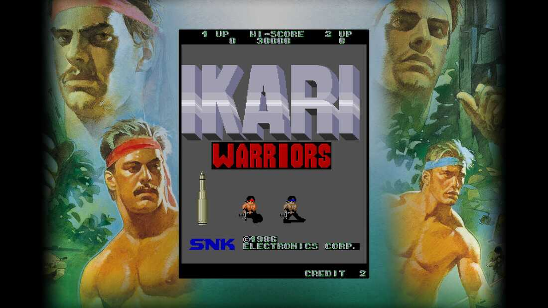 Ikari Warriors Screenshot 1