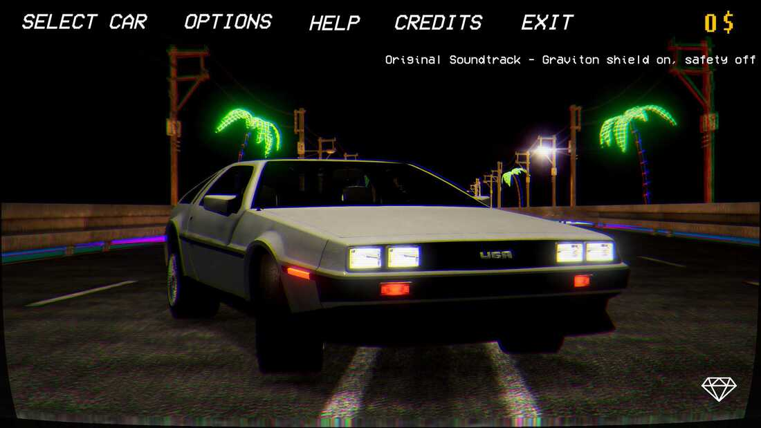 Retrowave Screenshot 1